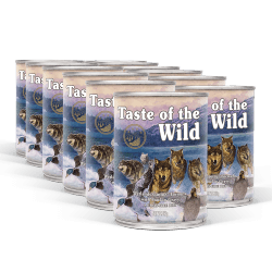 PACK TASTE OF THE WILD Wetlands konzervy 12x390 g