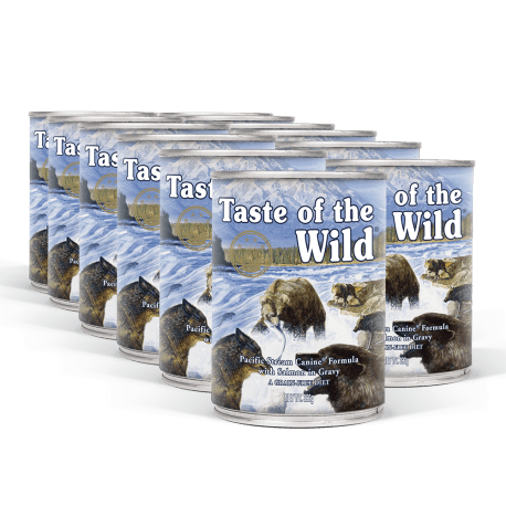 PACK TASTE OF THE WILD Pacific Stream konzervy 12x390 g