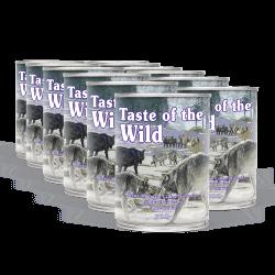 PACK TASTE OF THE WILD Sierra Mountain konzervy 12x390 g