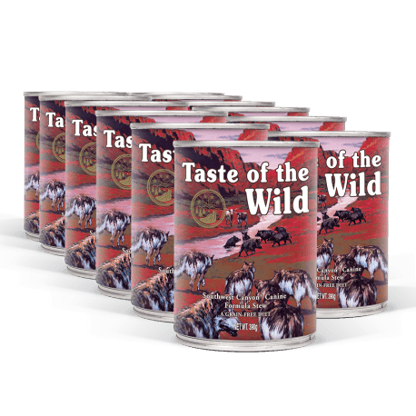 PACK TASTE OF THE WILD Southwest Canyon konzervy 12x390 g