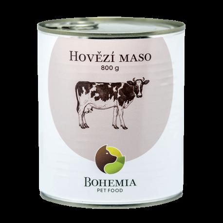 BOHEMIA Hovězí maso ve vlastní šťávě 800 g