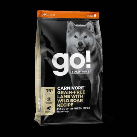 Petcurean GO! Carnivore Lamb&Wild Boar