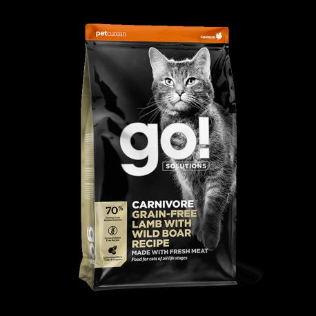 Petcurean GO! Solutions Carnivore Lamb&Wild Boar