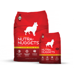 NUTRA NUGGETS Lamb&Rice 15+3 kg ZDARMA