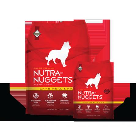 NUTRA NUGGETS Lamb&Rice 15+3 kg ZDARMA