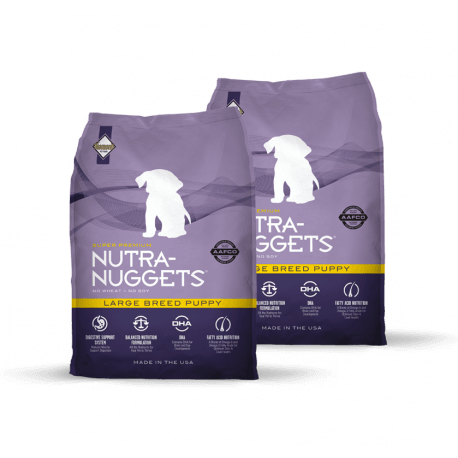 DVOJBALENÍ NUTRA NUGGETS Large Breed Puppy 2x15 kg