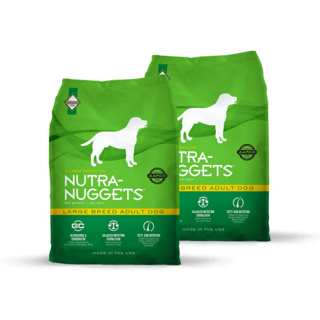 DVOJBALENÍ NUTRA NUGGETS Large Breed Adult 2x15 kg