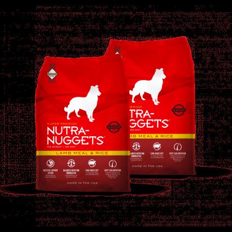 DVOJBALENÍ NUTRA NUGGETS Lamb & Rice 2x15 kg