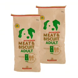 DVOJBALENÍ MAGNUSSON Meat&Biscuit ADULT 14kg