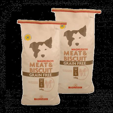 DVOJBALENÍ MAGNUSSON Meat&Biscuit GRAIN FREE 2x14 kg