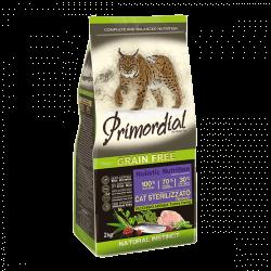 PRIMORDIAL Krůta & Sleď pro kastrované kočky