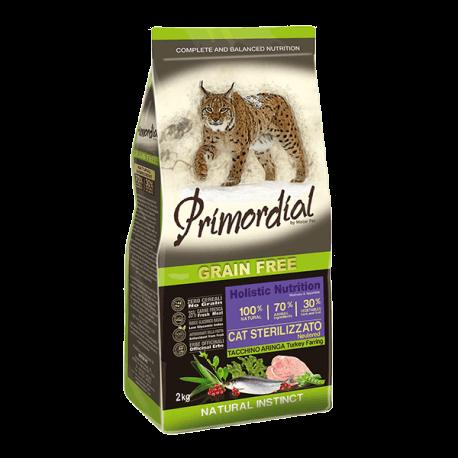 PRIMORDIAL Cat Sterilizzato Turkey&Herring