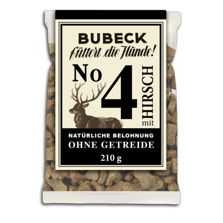 BUBECK Nr. 4 Hirsch 210g