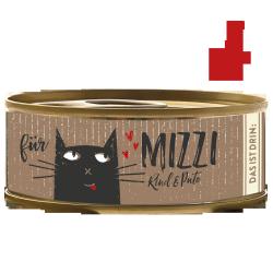 BUBECK Hovězí & Krůta konzerva pro kočky 100g