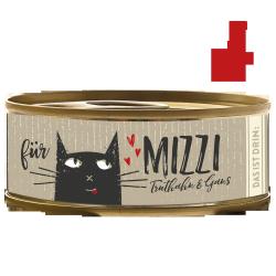 BUBECK Krůta & Husa konzerva pro kočky 100g