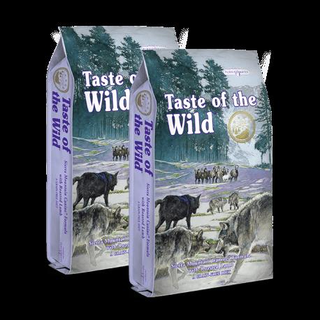 DVOJBALENÍ TASTE OF THE WILD Sierra Mountain Canine 2x13 kg
