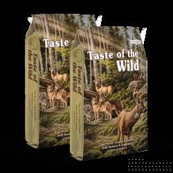 DVOJBALENÍ TASTE OF THE WILD Pine Forest 2x13 kg