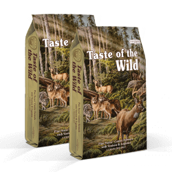 DVOJBALENÍ TASTE OF THE WILD Pine Forest Canine 2x13 kg