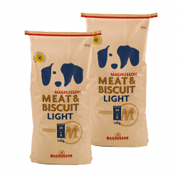 DVOJBALENÍ MAGNUSSON Meat&Biscuit LIGHT 2x14 kg
