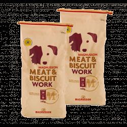 DVOJBALENÍ MAGNUSSON Meat&Biscuit WORK 2x14 kg