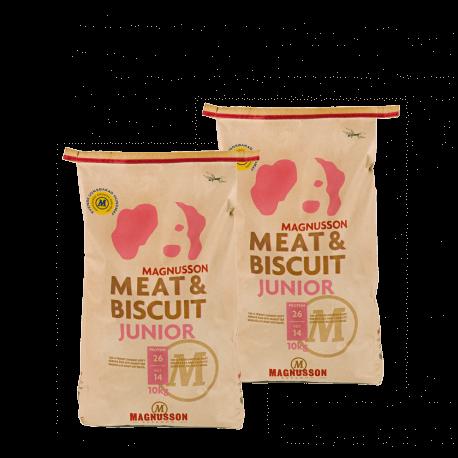 DVOJBALENÍ MAGNUSSON Meat&Biscuit JUNIOR 10kg