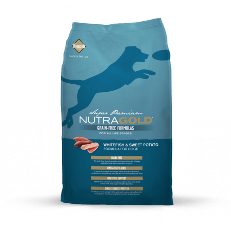 NUTRAGOLD Whitefish&Sweet Potato GRAIN FREE