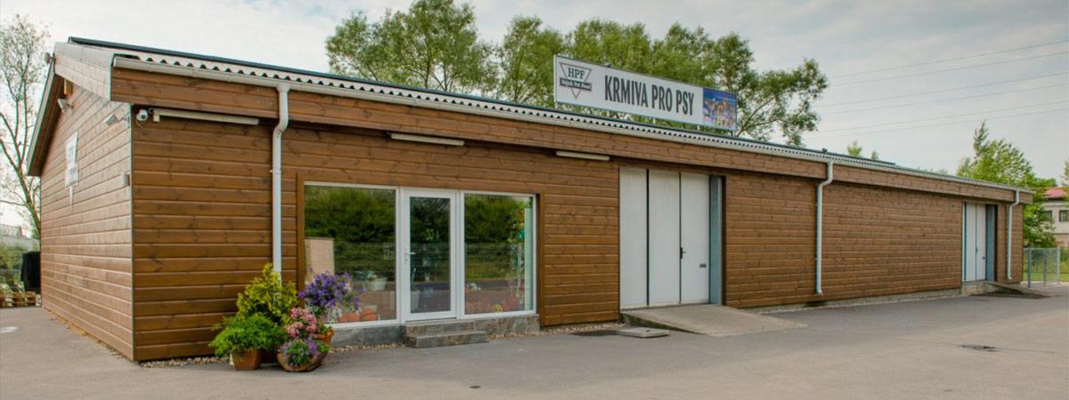 Prodejna Hájek Pet Food v Rudné u Prahy